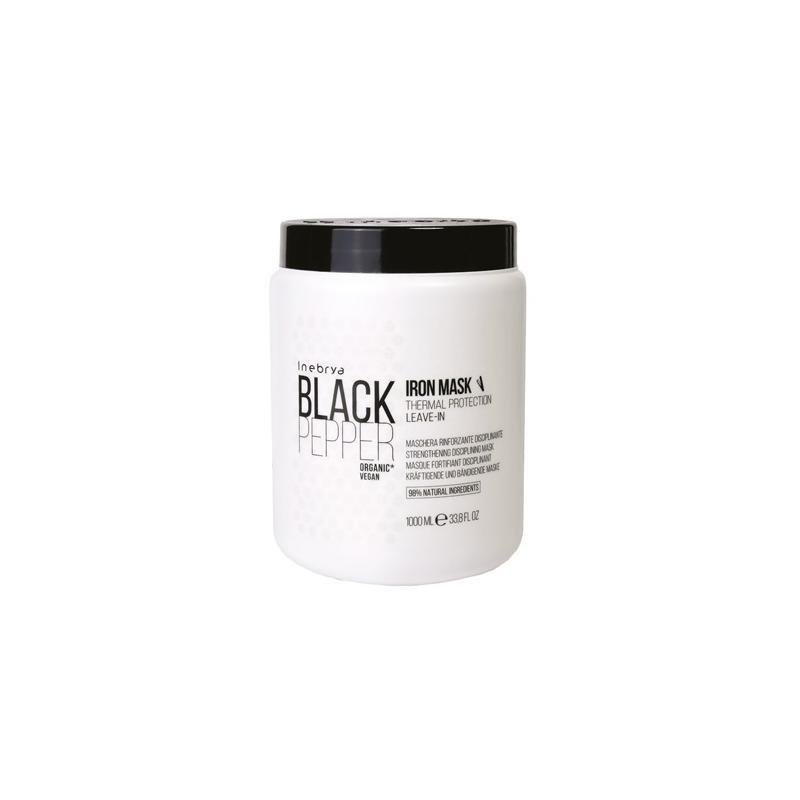 Black Pepper Iron Mask dyscyplinująca wzmacniająca maska do włosów 1000ml