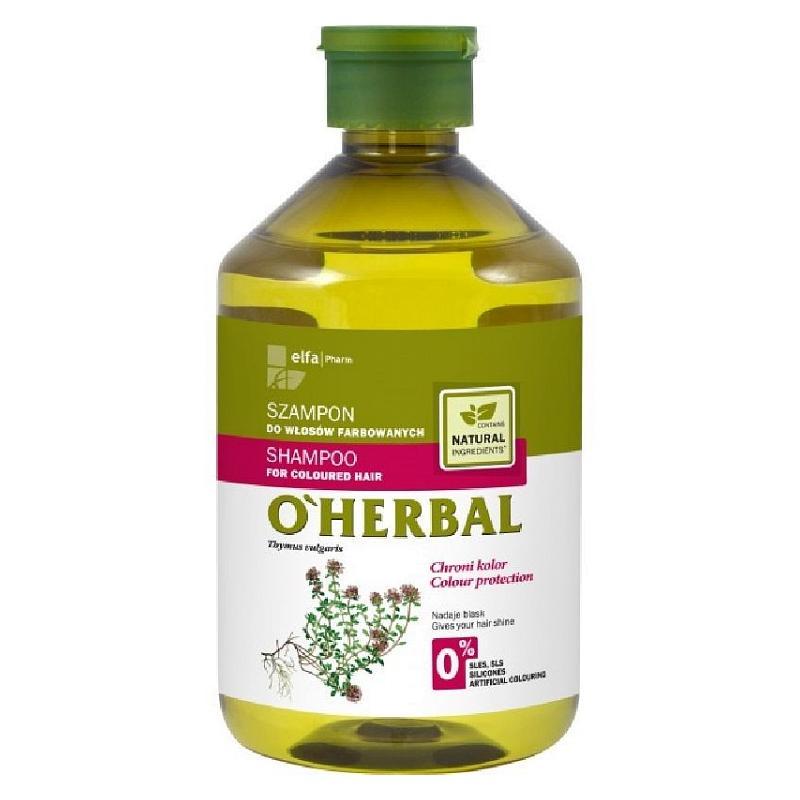 Shampoo For Coloured Hair szampon do włosów farbowanych z ekstraktem macierzanki i tymianku 500ml