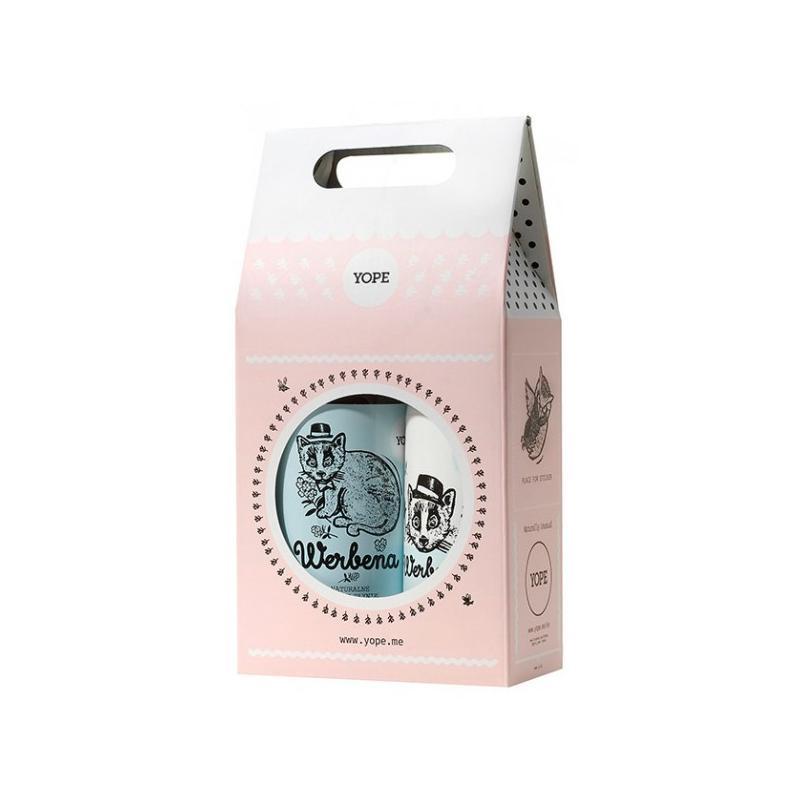 Naturalne mydło w płynie Werbena 500ml + balsam do ciała Werbena 300ml