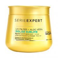 Serie Expert Solar Sublime After-Sun Nourishing Masque odżywcza maska do włosów po kąpieli słonecznej 250ml