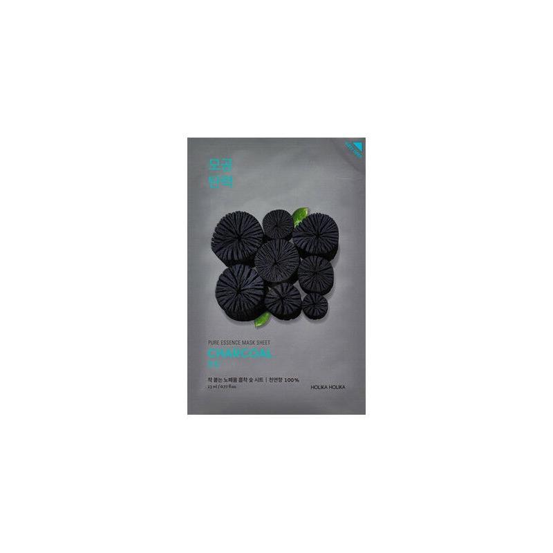 Pure Essence Mask Sheet Charcoal oczyszczająca maseczka z ekstrakrem z węgla 23ml