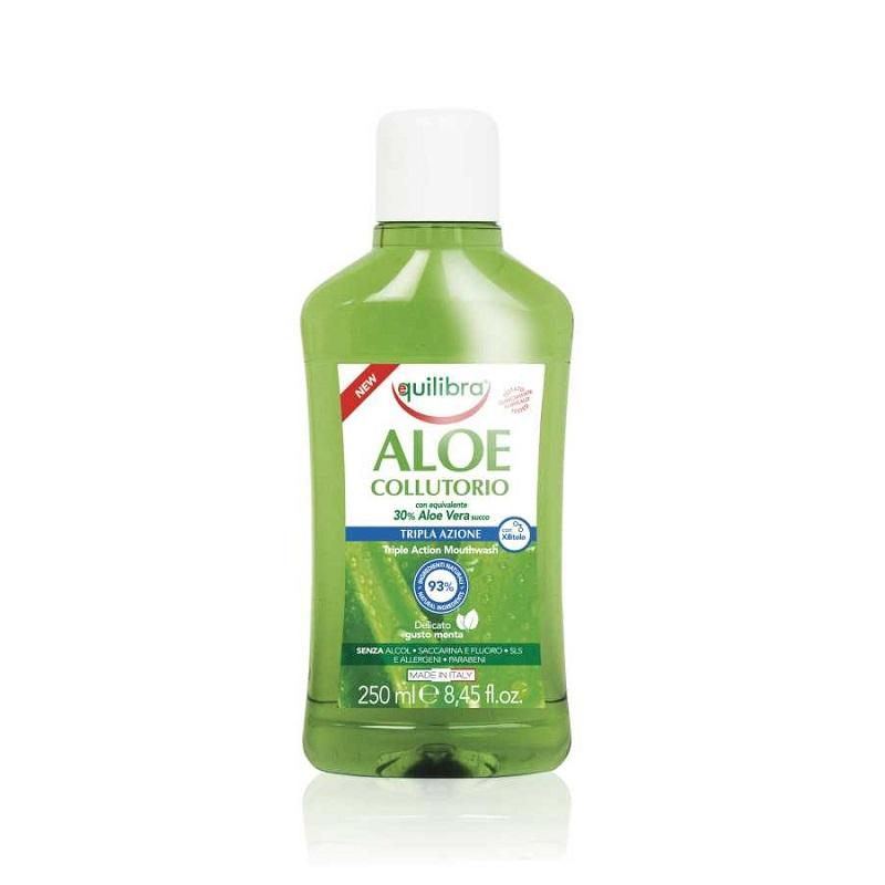 Aloe Triple Action Mouthwash płyn do płukania jamy ustnej 250ml