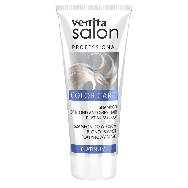 Salon Professional Color Care szampon do włosów blond i siwych Platinium 200ml