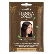 Henna Color ziołowa odżywka koloryzująca z naturalnej henny 19 Czarna Czekolada