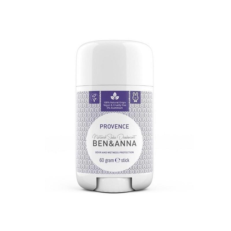 Natural Soda Deodorant naturalny dezodorant na bazie sody sztyft plastikowy Provence 60g