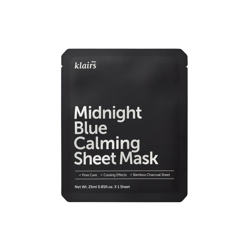 Midnight Blue Calming Sheet Mask łagodząca maska w płachcie 25ml