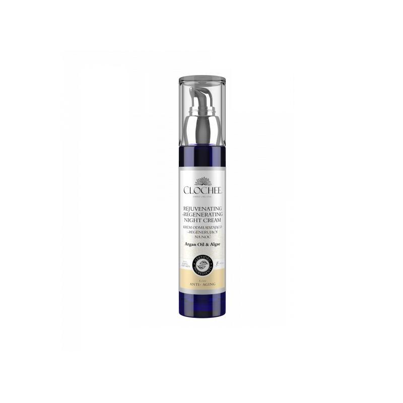 Rejuvenating-Regenerating Night Cream krem odmładzająco-regenerujący na noc Argan Oil & Algae 50ml