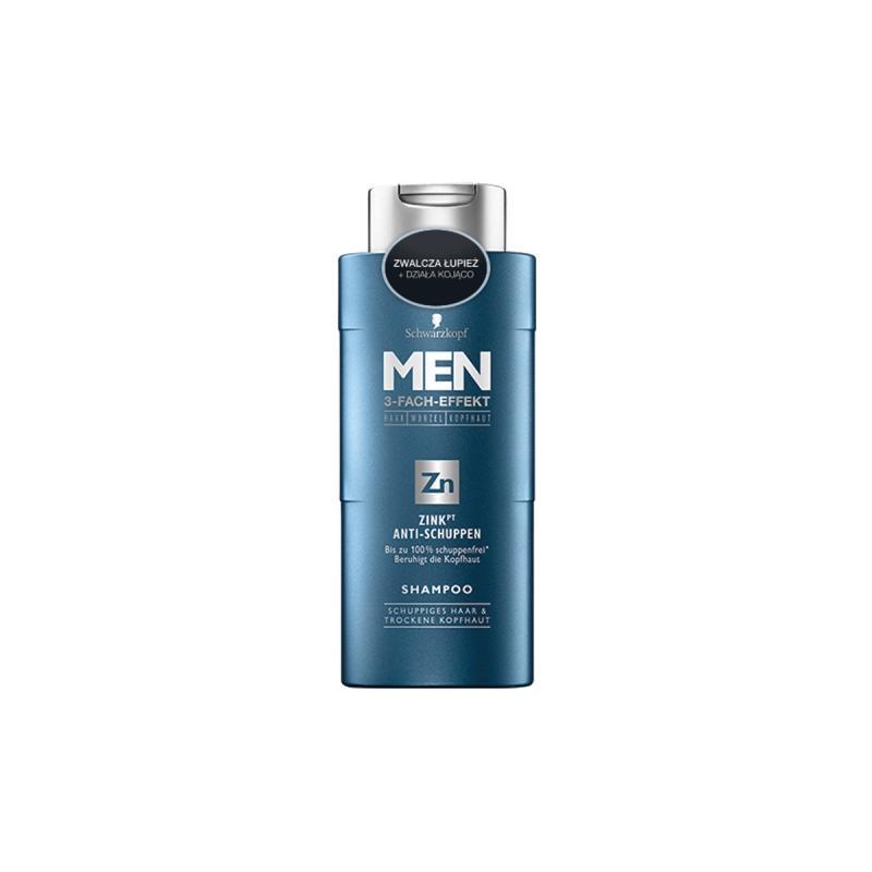 Men Zink Anti-Schuppen Shampoo przeciwłupieżowy szampon do włosów 250ml