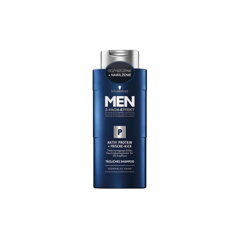 Men Activ Protein + Frische-Kick Shampoo szampon do włosów do codziennego stosowania 250ml