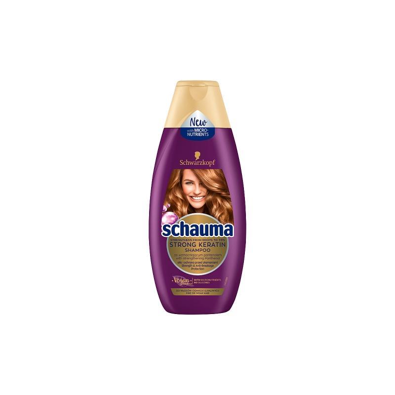 Strong Keratin Rebuilding Shampoo odbudowujący szampon do włosów 400ml