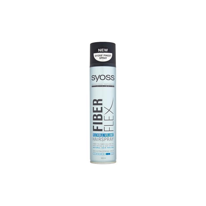 Fiberflex Flexible Volume Hairspray lakier zwiększający objętość włosów w sprayu Extra Strong 300ml