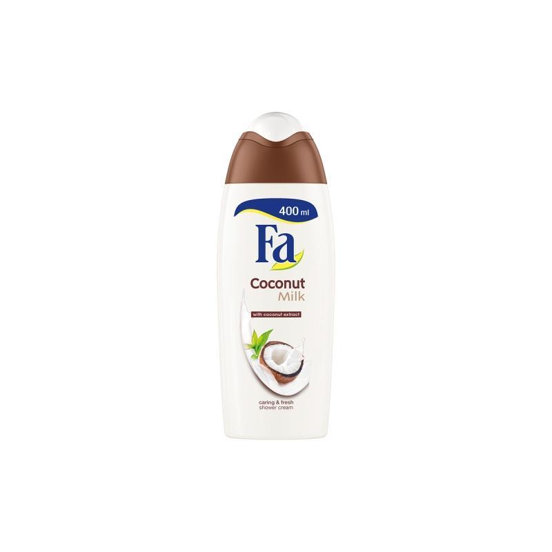 Coconut Milk Shower Cream kremowy żel pod prysznic o zapachu kokosa 400ml