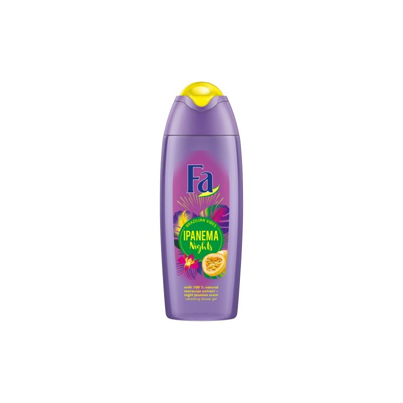 Brazilian Vibes Ipanema Nights Shower Gel żel pod prysznic Maracuja Night Jasmine Scent 400ml