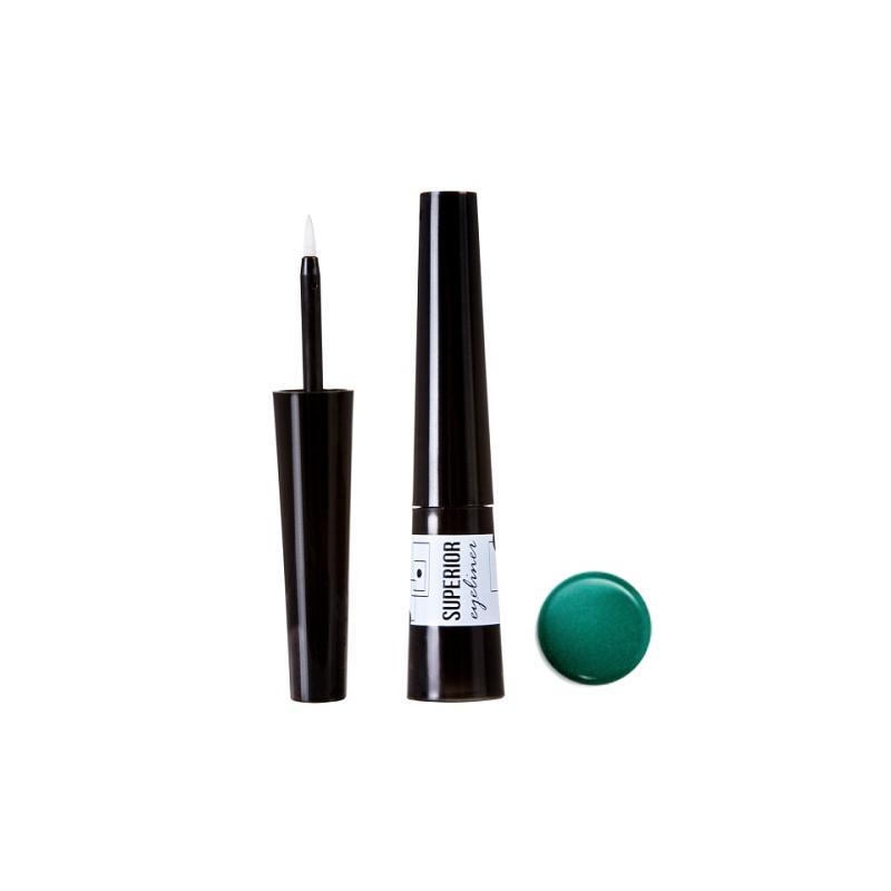 Superior Eyeliner wodoodporny eyeliner 07 Green 3ml