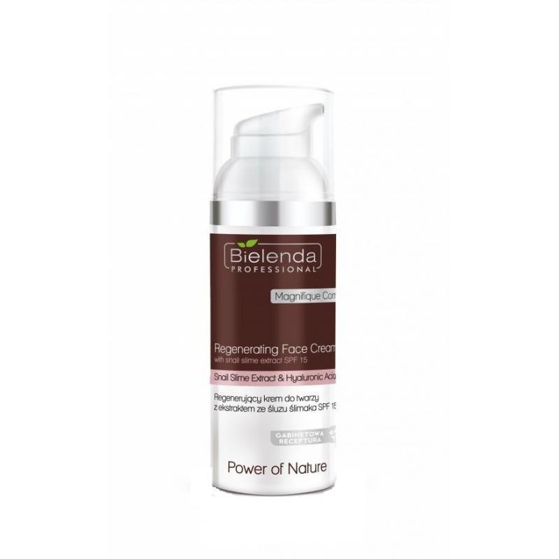 Power Of Nature Regenerating Face Cream With Snail Slime Extract regenerujący krem do twarzy z ekstraktem ze śluzu ślimaka SPF15
