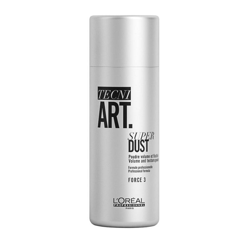Tecni Art Super Dust Volume And Texture Powder puder dodający objętości włosom Force 3 7g