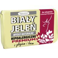 Hipoalergiczne mydło naturalne z głogiem i lnem 100g